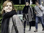 LONDON, ENGLAND - JUNE 03: (EXCLUSIVE COVERAGE)(MINIMUM ONLINE/WEB USAGE FEE £150 FOR THE SET)(MINIMUM PRINT USAGE FEE £150 PER IMAGE) Emma Watson and boyfriend Max Knight are spotted out on JUNE 03, 2016 in London, United Kingdom. (Photo by Ray Crowder/GC Images)