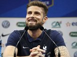 Football Soccer - Euro 2016 - France News Conference - Domaine de Montjoye - Clairefontaine, France - 11/6/16  France's Olivier Giroud  REUTERS/Charles Platiau