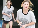 *EXCLUSIVE* Hollywood, CA - Mischa Barton is spotted make-up free with her Pomeranian, Ziggy. The actress and former DWTS contestant looks casual and comfy in a pair of short shorts and long sleeve graphic tee. She is seen walking with her furry companion as she takes a smoke break  near her home.\nAKM-GSI       June 9, 2016\nTo License These Photos, Please Contact :\nMaria Buda\n(917) 242-1505\nmbuda@akmgsi.com\nsales@akmgsi.com\nor \nMark Satter\n(317) 691-9592\nmsatter@akmgsi.com\nsales@akmgsi.com\nwww.akmgsi.com