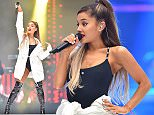 Ariana Grande at the Capital FM's Summertime Ball with Vodafone held at Wembley Stadium, London (Picture Credit: Matt Crossick/ EMPICS Entertainment)