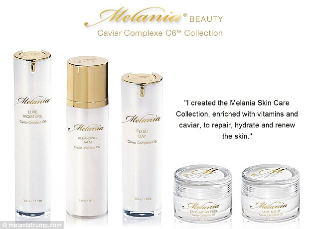 Poorly marketed: Mrs Tump said she had been getting her beauty products for an April launch but when the date came, they were nowhere to be seen in stores