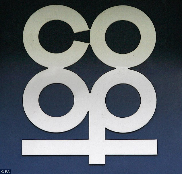 The Co-op is reviving its Sixties blue cloverleaf logo (pictured) which it abandoned in the noughties