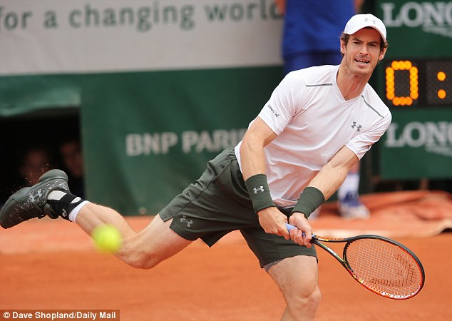 Murray proved too good for the big-serving Croatian as he swept him aside in straight sets