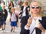 Mandatory Credit: Photo by Startraks Photo/REX/Shutterstock (5725754p)\nNaomi Watts with sons Alexander Pete and Samuel Kai Schreiber\nNaomi Watts out and about, New York, USA - 10 Jun 2016\nNaomi Watts Takes Sons for Frozen Yogurt After Picking them Up from School\n