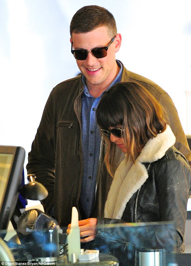 Alone time: Cory and Lea surely will savor their much-needed holiday with each other