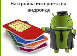 Настройка интернета на андроиде для украинских операторов связи.