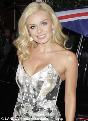 Katherine Jenkins has been hanging out with tenor David Webb, whose group Amore will support her on her summer tour
