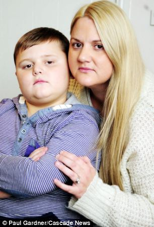'Unrecognisable': Harrison's mother says her son's behaviour has changed since he developed the rare disorders