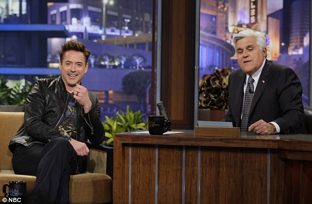 Not a proud moment: Robert Downey Jr. sat down with Jay Leno on Friday and talked about, of all things, his now famous wardrobe malfunction