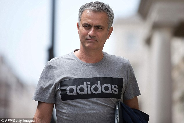Jose Mourinho's move to Manchester United was held up by Chelsea's ownership of his image rights
