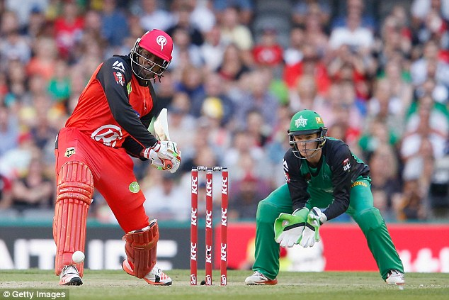Chris Gayle will not be re-signed for the Big Bash by Melbourne Renegades following recent comments