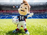 LYON, FRANCE - JUNE 09:  Euro 2016 toy mascot, Super Victor, is seen at Stade de France ahead of the UEFA Euro 2016 tournament on June 9, 2016 in Lyon, France.  (Photo by Simon Hofmann - UEFA/UEFA via Getty Images)