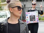 Kelly Osbourne shows her support for the shooting victims in Orlando as she walks to the pride parade in West Hollywood.\n\nPictured: Kelly Osbourne\nRef: SPL1299198  120616  \nPicture by: Splash News\n\nSplash News and Pictures\nLos Angeles: 310-821-2666\nNew York: 212-619-2666\nLondon: 870-934-2666\nphotodesk@splashnews.com\n