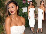 Picture Shows: Nicole Scherzinger  June 12, 2016    Nicole Scherzinger attends 'One For The Boys' Fashion Ball at Victoria and Albert Museum in London, Untied Kingdom. She was looking glamorous wearing a form fitted white dress, and black high heels.    Non Exclusive  WORLDWIDE RIGHTS    Pictures by : FameFlynet UK � 2016  Tel : +44 (0)20 3551 5049  Email : info@fameflynet.uk.com
