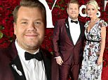 NEW YORK, NY - JUNE 12:  Host James Corden and Julia Carey attend the 70th Annual Tony Awards at The Beacon Theatre on June 12, 2016 in New York City.  (Photo by Kevin Mazur/Getty Images for Tony Awards Productions)