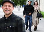 West Hollywood, CA - Charlie Hunnam and girlfriend Morgana McNelis shop on Melrose together for furniture. The two are in a good mood as they smile for cameras on their stroll.\nAKM-GSI          June 11, 2016\nTo License These Photos, Please Contact :\nMaria Buda\n(917) 242-1505\nmbuda@akmgsi.com\nsales@akmgsi.com\nor \nMark Satter\n(317) 691-9592\nmsatter@akmgsi.com\nsales@akmgsi.com\nwww.akmgsi.com