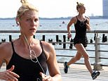 Picture Shows: Claire Danes  June 12, 2016\n \n 'Homeland' actress Claire Danes showed off her fit physique as she went for a run along Manhattan's Hudson River Park in New York, New York.\n \n Non Exclusive\n UK RIGHTS ONLY\n \n Pictures by : FameFlynet UK � 2016\n Tel : +44 (0)20 3551 5049\n Email : info@fameflynet.uk.com