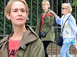 *EXCLUSIVE* West Hollywood, CA - Sarah Paulson and Holland Taylor are spotted taking a leisurely stroll in WeHo to check out some shops. The lovely couple looks like they have a great connection as they hold hands and seem deep in conversation with one another. Paulson looks comfy and warm as she walks next to her Holland who is wearing a simple jacket and jeans. The couple is still going strong and seems in love as ever!\nAKM-GSI       June 12, 2016\nTo License These Photos, Please Contact :\nMaria Buda\n(917) 242-1505\nmbuda@akmgsi.com\nsales@akmgsi.com\nor \nMark Satter\n(317) 691-9592\nmsatter@akmgsi.com\nsales@akmgsi.com\nwww.akmgsi.com