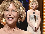 NEW YORK, NY - JUNE 12:  Actress Meg Ryan speaks onstage during the 70th Annual Tony Awards at The Beacon Theatre on June 12, 2016 in New York City.  (Photo by Theo Wargo/Getty Images for Tony Awards Productions)