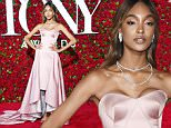Jourdan Dunn arrives at the Tony Awards at the Beacon Theatre on Sunday, June 12, 2016, in New York. (Photo by Charles Sykes/Invision/AP)
