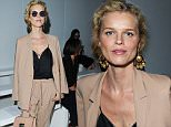 LONDON, ENGLAND - JUNE 11:  Eva Herzigova attends the Casely Hayford show during The London Collections Men SS17 at  on June 11, 2016 in London, England.  (Photo by Stuart C. Wilson/Getty Images)