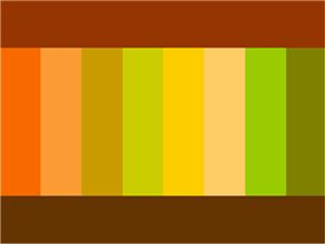 таблица сочетания коричневого цвета