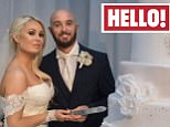 Embargoed to 0001 Tuesday June 14 THIS PICTURE MUST ONLY BE USED IN CONJUNCTION WITH THE FRONT COVER OF THIS WEEK'S HELLO! MAGAZINE. NO SALES NO ARCHIVE. EDITORIAL USE ONLY. ONE USE ONLY  Handout photo issued by Hello! of Stephen Ireland with his wife Jessica Lawlor, as the Premiership footballer has told how he refused to let a broken leg stop him walking down the aisle. PRESS ASSOCIATION Photo. Issue date: Tuesday June 14, 2016. The former Irish international shattered his left tibula and fibula during training two weeks before he was due to marry his love of nine years. See PA story SHOWBIZ Ireland. Photo credit should read: Hello! Magazine/PA Wire NOTE TO EDITORS: This handout photo may only be used in for editorial reporting purposes for the contemporaneous illustration of events, things or the people in the image or facts mentioned in the caption. Reuse of the picture may require further permission from the copyright holder.