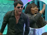 ****Ruckas Videograbs****  (01322) 861777 *IMPORTANT* Please credit Channel 5 for this picture. 12/06/16 Big Brother - Channel 5 DAY 6 Grabs from the 9pm show in the BB house Office  (UK)  : 01322 861777 Mobile (UK)  : 07742 164 106 **IMPORTANT - PLEASE READ** The video grabs supplied by Ruckas Pictures always remain the copyright of the programme makers, we provide a service to purely capture and supply the images to the client, securing the copyright of the images will always remain the responsibility of the publisher at all times. Standard terms, conditions & minimum fees apply to our videograbs unless varied by agreement prior to publication.