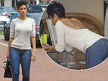 12.June.2016 - Malibu ñ USA\n*** STRICTLY AVAILABLE FOR UK AND GERMANY USE ONLY ***\nMalibu, CA - Nicole Murphy gets some shopping done in Malibu on a sunny Sunday. Nicole smiles for the cameras as she is seen heading into a shopping center before exiting with her hands full of shopping bags.\nBYLINE MUST READ : AKM-GSI-XPOSURE\n***UK CLIENTS - PICTURES CONTAINING CHILDREN PLEASE PIXELATE FACE PRIOR TO PUBLICATION ***\n*UK CLIENTS MUST CALL PRIOR TO TV OR ONLINE USAGE PLEASE TELEPHONE 0208 344 2007*\n