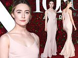NEW YORK, NY - JUNE 12:  Actress Saoirse Ronan attends the 70th Annual Tony Awards at The Beacon Theatre on June 12, 2016 in New York City.  (Photo by Dimitrios Kambouris/Getty Images for Tony Awards Productions)