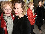 NEW YORK, NY - DECEMBER 20:  Holland Taylor and Sarah Paulson attend the Broadway Opening Night Performance of 'Fiddler On The Roof'  at the Broadway Theatre on December 20, 2015 in New York City.  (Photo by Walter McBride/WireImage)