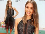 """BEVERLY HILLS, CA - JUNE 12:  Actress Jessica Alba arrives at Children Mending Hearts and Vintage Grocers Presents the 8th Annual ¿Empathy Rocks"""" on June 12, 2016 in Beverly Hills, California.  (Photo by Ari Perilstein/Getty Images for Children Mending Hearts)"""