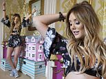 behind the scenes with Charlotte Crosby at her Tiger Mist fashion shoot.  Brighton