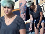 EXCLUSIVE PICTURES \\n\\nJun 12 2016\\n\\nParis Jackson shows off her new tattoo as she smokes a cigarette outside the tattoo parlor in Los Angeles on Sunday afternoon.\\n\\nThe daughter of Michael Jackson kept up her wild image with the tattoo of the Demon Rabbit from Donnie Darko with the words Wake Up below it.\\n\\nThem seven-year  anniversary of her dad Michael's death is next week, on June 29th.\\n\\nCredit Line Must Read: Lemon Light-Media.com\\n\\nPlease Agree Terms Before Use