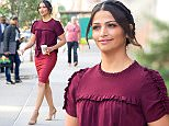 , New York, NY - 6/14/16-Camila Alves Spotted Leaving the Greenwich Hotel\n-PICTURED: Camila Alves\n-PHOTO by: Freddie Baez/startraksphoto.com\n-FB_1103492\nEditorial - Rights Managed Image - Please contact www.startraksphoto.com for licensing fee\nStartraks Photo\nNew York, NY\nImage may not be published in any way that is or might be deemed defamatory, libelous, pornographic, or obscene. Please consult our sales department for any clarification or question you may have.\nFor licensing please call 212-414-9464 or email sales@startraksphoto.comStartraks Photo reserves the right to pursue unauthorized users of this image. If you violate our intellectual property you may be liable for actual damages, loss of income, and profits you derive from the use of this image, and where appropriate, the cost of collection and/or statutory damages, New York, NY - 6/14/16-Camila Alves Spotted Leaving the Greenwich Hotel\n-PICTURED: Camila Alves\n-PHOTO by: Freddie Baez/startraksphoto.com\n-FB_110349