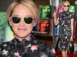"""Sharon Stone attends """"Eat That Question:Frank Zappa in His Own Words"""" Premiere in Hollywood, California, on June 13, 2016. / AFP PHOTO / JEAN BAPTISTE LACROIXJEAN BAPTISTE LACROIX/AFP/Getty Images"""