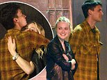 EXCLUSIVE: ** PREMIUM EXCLUSIVE RATES APPLY**  Dakota Fanning spotted getting intimate with a mystery guy as they pair catch a breath of fresh air during night out at a warehouse rave in downtown La. Dakota was later seen heading back to a residence with the same guy.\n\nPictured: Dakota Fanning\nRef: SPL1300085  130616   EXCLUSIVE\nPicture by: M A N I K (NYC) / Splash News\n\nSplash News and Pictures\nLos Angeles: 310-821-2666\nNew York: 212-619-2666\nLondon: 870-934-2666\nphotodesk@splashnews.com\n