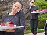 EXCLUSIVE: Jennifer Garner carrying a diorama  is seen in Los Angeles, California.\n\nPictured: Jennifer Garner\nRef: SPL1301401  130616   EXCLUSIVE\nPicture by: GONZALO/Bauergriffin.com\n\n