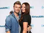 NEW YORK, NY - SEPTEMBER 04:  Nick Carter of Backstreet Boys and wife Lauren Kitt Carter visit the SiriusXM Studios on September 4, 2014 in New York City.  (Photo by Taylor Hill/Getty Images)