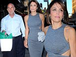 """-New York, NY - 6/14/2016 - Bethenny Frankel and boyfriend Dennis Shields spotted in the Meatpacking District\n-PICTURED: Bethenny Frankel and Dennis Shields\n-PHOTO by: Frank Lewis/startraksphoto.com\n-HOB_9117\nEditorial - Rights Managed Image - Please contact www.startraksphoto.com for licensing fee\nStartraks Photo New York, NY For licensing please call 212-414-9464 or email sales@startraksphoto.com\n""""Image may not be published in any way that is or might be deemed defamatory, libelous, pornographic, or obscene. Please consult our sales department for any clarification or question you may have\nStartraks Photo reserves the right to pursue unauthorized users of this image. If you violate our intellectual property you may be liable for actual damages, loss of income, and profits you derive from the use of this image, and where appropriate, the cost of collection and/or statutory damages."""
