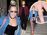 """Miley Cyrus and Liam Hemsworth put on a rare display of PDA as they headed out in NYC for a Date night, while Liam had an off day from promoting his new movie, """"Independence Day: Resurgence"""". The reunited couple headed to the Soho House for Dinner with a few pals. Afterwards, they headed back to a Midtown Hotel, and were in great spirits. They even held hands in front of the paparazzi as they headed up to their room. \n\nPictured: Miley Cyrus , Liam Hemsworth\nRef: SPL1302210  140616  \nPicture by: 247PAPS.TV / Splash News\n\nSplash News and Pictures\nLos Angeles: 310-821-2666\nNew York: 212-619-2666\nLondon: 870-934-2666\nphotodesk@splashnews.com\n"""