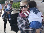 Exclusive... 52090157 Model Amber Rose is spotted at Barney's New York in Los Angeles, California with her son and a male friend on June 12, 2016. Last week she celebrated her divorce settlement with her now ex-husband, Wiz Khalifa, at a strip club, stating that they weren't cheering on their divorce, but rather celebrating their love for each other. FameFlynet, Inc - Beverly Hills, CA, USA - +1 (310) 505-9876