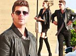 EXCLUSIVE: Robin Thicke with girlfriend at Nobu.\n\nPictured: Robin Thicke \nRef: SPL1301057  130616   EXCLUSIVE\nPicture by:  Splash News\n\nSplash News and Pictures\nLos Angeles: 310-821-2666\nNew York: 212-619-2666\nLondon: 870-934-2666\nphotodesk@splashnews.com\n