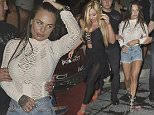 14 June 2016  - Magaluf  - Spain\n*EXCLUSIVE ALL ROUND PICTURES*\nChantelle Connelly\nScotty T escapes the club where Geordie Shore was being filmed, and ran from security. His hand was bleeding!\nThe Geordie Shore cast were back in Magaluf last night and were filming at Project on the Maga Strip when after an hour inside the club Scotty T emerges and ran! Security from the Geordie Shore Crew and members of production were chasing him through the streets of Magaluf but he did not want to stop. Whilst security and prodcution were chasing him Marty Mckenna also ran out of the club arguing with another member of production. Security soon calmed the situation down and returned Marty to the club but Scott was still missing. It is unsure if Scott has been located as all cast and crew left the club shortly after the incident.\nOn-lookers said 'Scott just ran from the club shouting 'I'm fucking off, im sick of this shit' His hand was bleeding as if he had punched someone or something. He trie