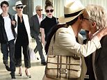 14.June.2016 - New York ñ USA\\n*** STRICTLY AVAILABLE FOR UK AND GERMANY USE ONLY ***\\nNew York, NY -  Catherine Zeta-Jones and Michael Douglas walk through JFK Airport in New York City with their children Carys and Dylan, as they return from the 2016 Canadian Grand Prix. Michael once again looked to be at death's door while bravely spending time with his son Dylan at the June 2016 Canadian Grand Prix. As reported by RadarOnline, the stricken movie star is battling to enjoy life even as experts tell The National ENQUIRER that he sports all the signs of being treated for a recurrence of cancer\\nBYLINE MUST READ : AKM-GSI-XPOSURE\\n***UK CLIENTS - PICTURES CONTAINING CHILDREN PLEASE PIXELATE FACE PRIOR TO PUBLICATION ***\\n*UK CLIENTS MUST CALL PRIOR TO TV OR ONLINE USAGE PLEASE TELEPHONE 0208 344 2007*\\n