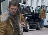 MUST BYLINE: EROTEME.CO.UK EastEnders actor Scott Maslen drinks a pint of Peroni in his car while smoking a cigarette before returning the pint glass back to the pub then drives off. EXCLUSIVE  June 14, 2016 Job: 160603L4   London, England EROTEME.CO.UK 44 207 431 1598 Ref: 341629