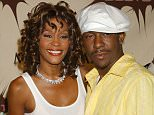 Whitney Houston and Bobby Brown at the MGM Grand Hotel in Las Vegas, Nevada (Photo by Gregg DeGuire/WireImage)