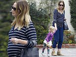 Picture Shows: Hazel Krasinski, Emily Blunt  June 14, 2016    Pregnant actress Emily Blunt was spotted stepping out and about with her daughter and friend in Los Angeles, California. She was dressed in a casual striped shirt and blue sweat pants.     Exclusive All Rounder  UK RIGHTS ONLY  Pictures by : FameFlynet UK � 2016  Tel : +44 (0)20 3551 5049  Email : info@fameflynet.uk.com