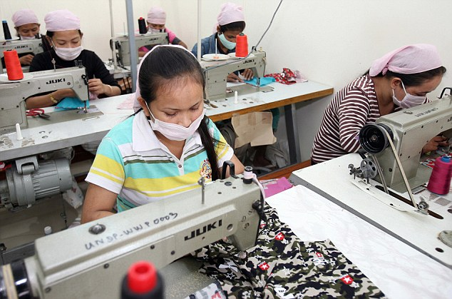 Cheap clothes from factories across Asia and the Far East were a critical part of the boom years