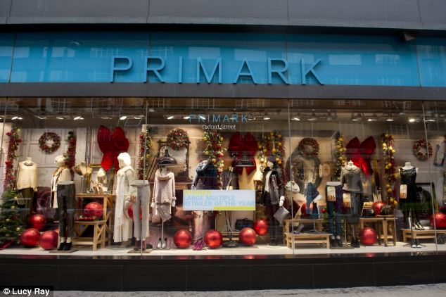 Gesture: Primark said it had already offered short-term assistance to thousands of families and was committed to paying long-term compensation